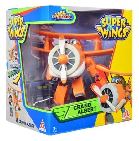Super Wings Grand Albert Transforming Toy